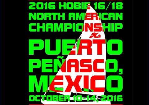 2016 NA Hobie 16:18 poster